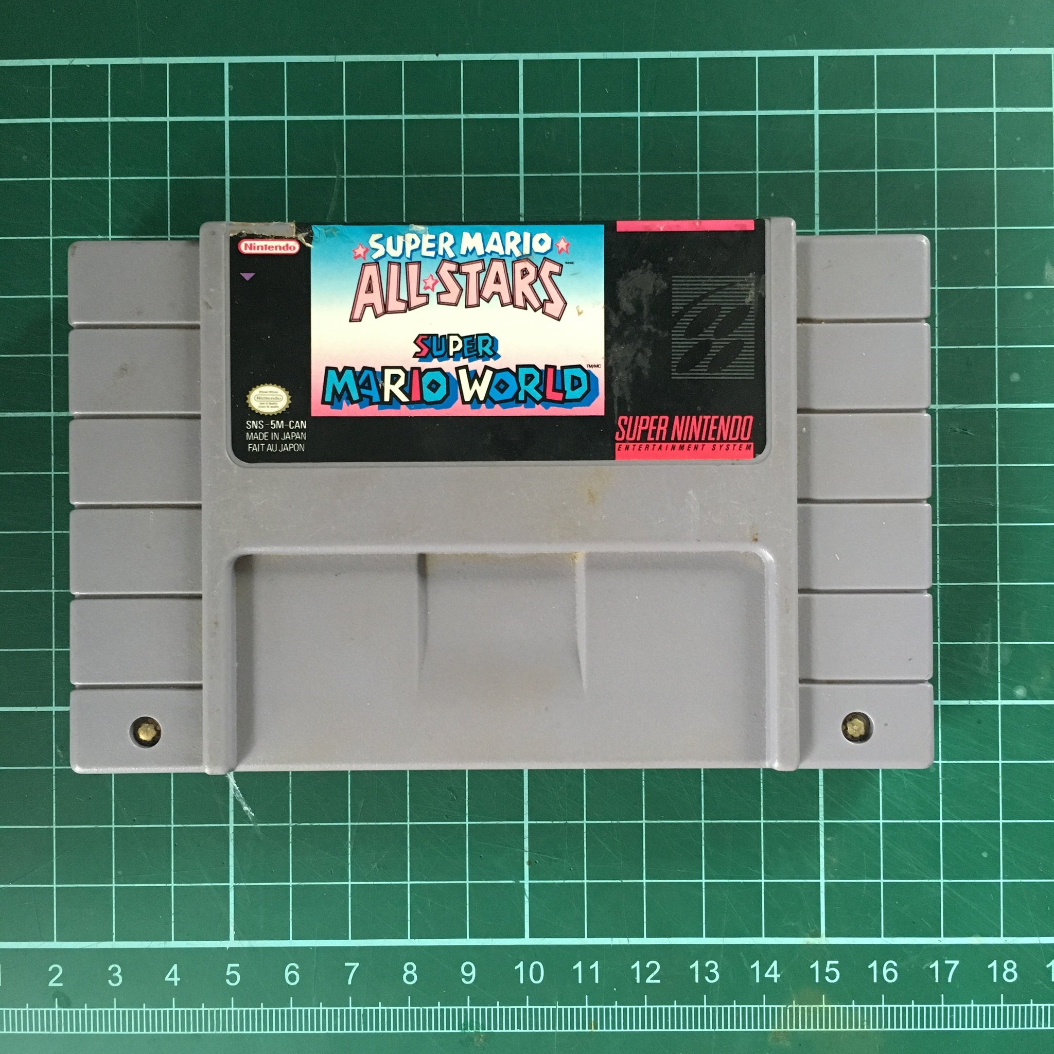 Super Mario All-Stars / Super Mario World • Super Nintendo Entertainment  System SNES