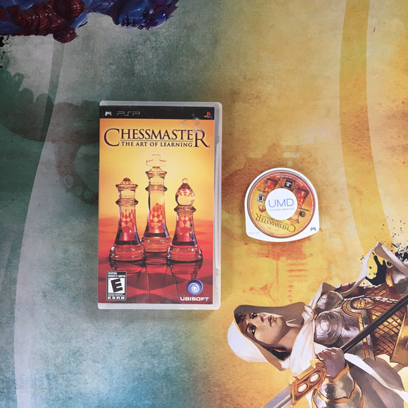 Chessmaster: The Art of Learning • Sony PlayStation Portable PSP