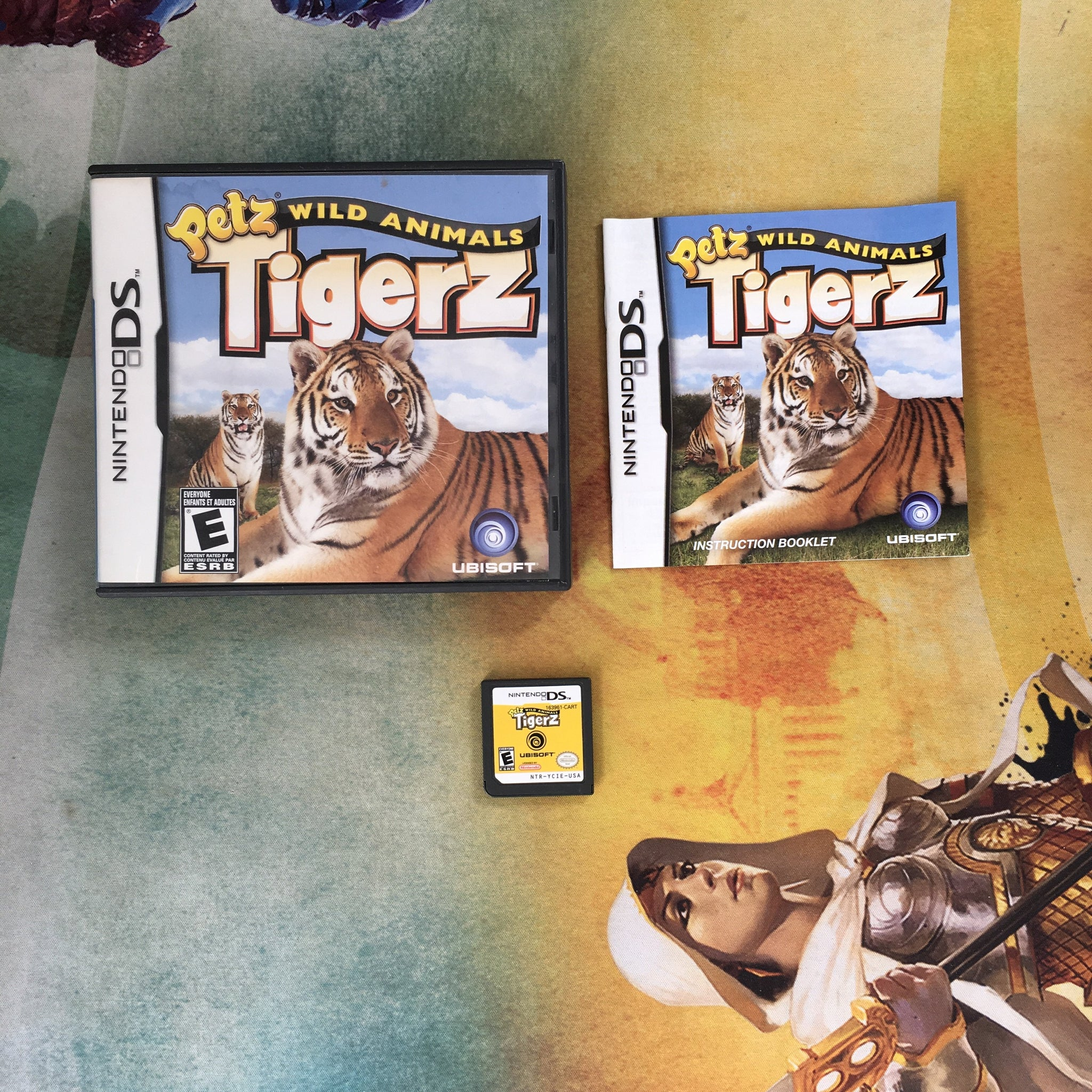 Petz Wild Animals Tigerz • Nintendo DS