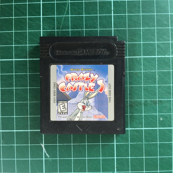 The Bugs Bunny Crazy Castle 3 • Nintendo Game Boy Color GBC