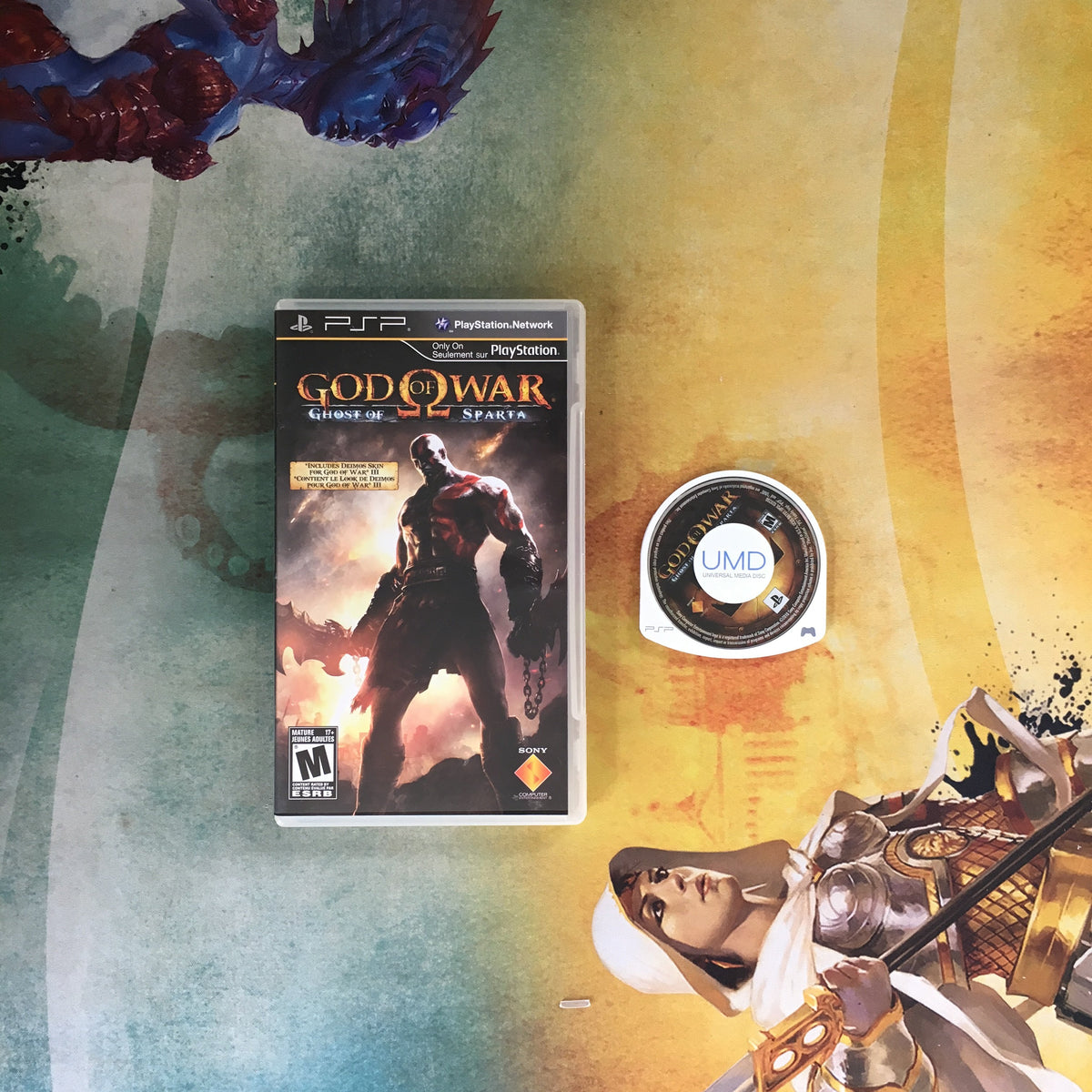 God of War: Ghost of Sparta • Sony PlayStation Portable PSP