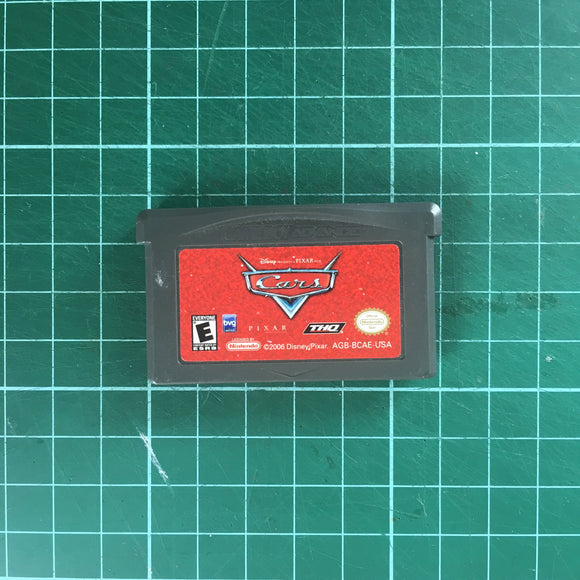 Cars • Nintendo Game Boy Advance GBA