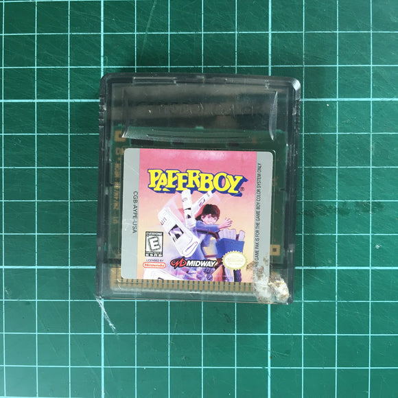 Paperboy • Nintendo Game Boy Color GBC