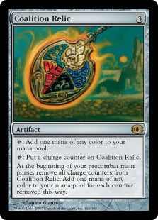 1x Coalition Relic • Future Sight • MP Moderately Played • MTG