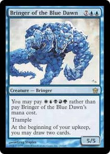 1x Bringer of the Blue Dawn • Fifth Dawn • MP Moderately Played • MTG