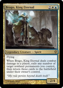 1x Brago, King Eternal • Conspiracy • MP Moderately Played • MTG