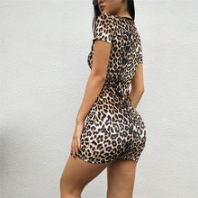 Load image into Gallery viewer, Leopard Bodycon Dress - Alessandro Allori