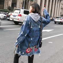 Load image into Gallery viewer, Long Denim Jacket - Alessandro Allori