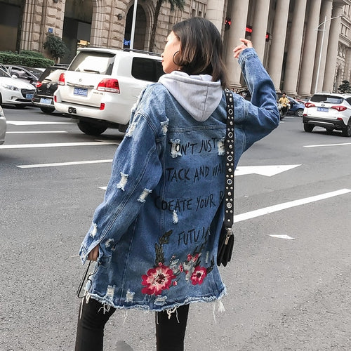 Long Denim Jacket - Alessandro Allori