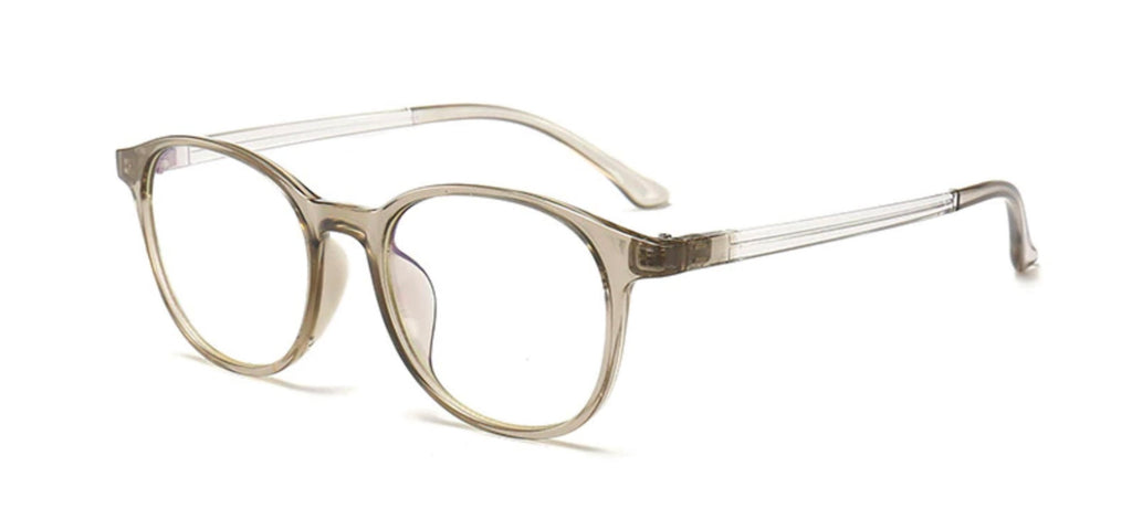 transparent screen glasses gray