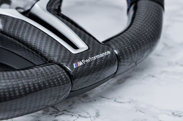 1. Carbon Fiber Finish - [STEERING WHEEL CUSTOMIZATION]