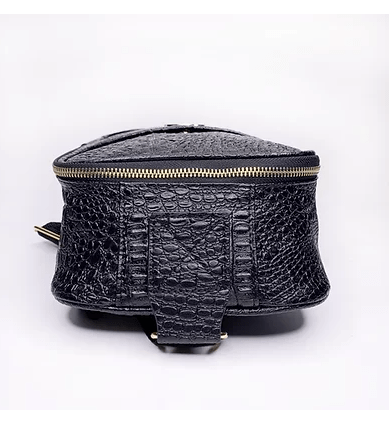 Gator Embossed Cross Body Bag