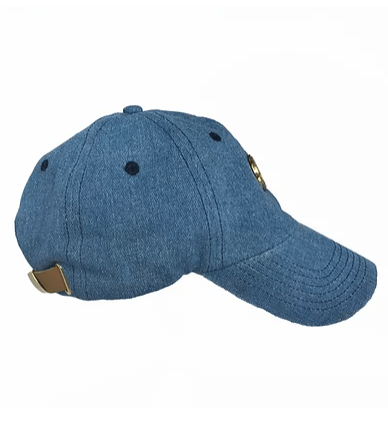 Washed Jean Dad Hat