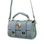 Mini Turquoise Barrel Hand Bag