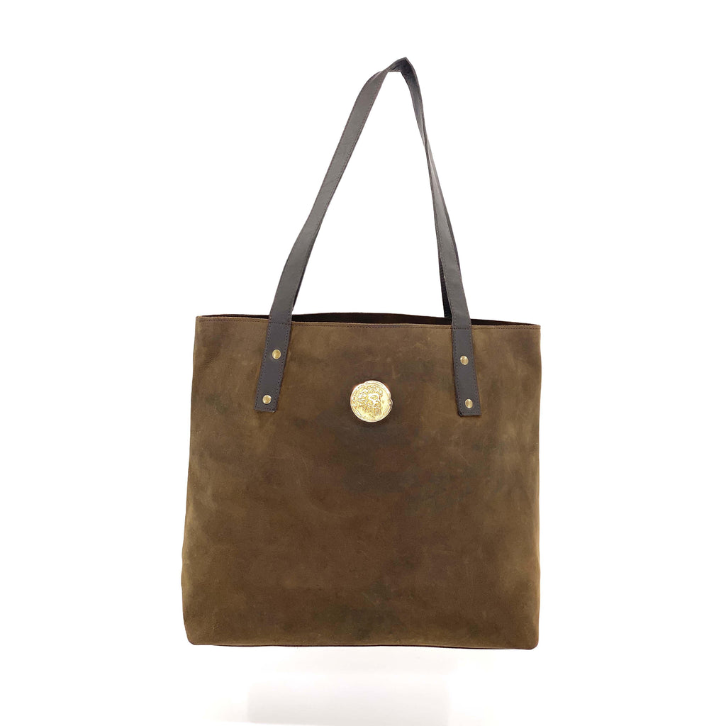 Medium Chocolate Tote
