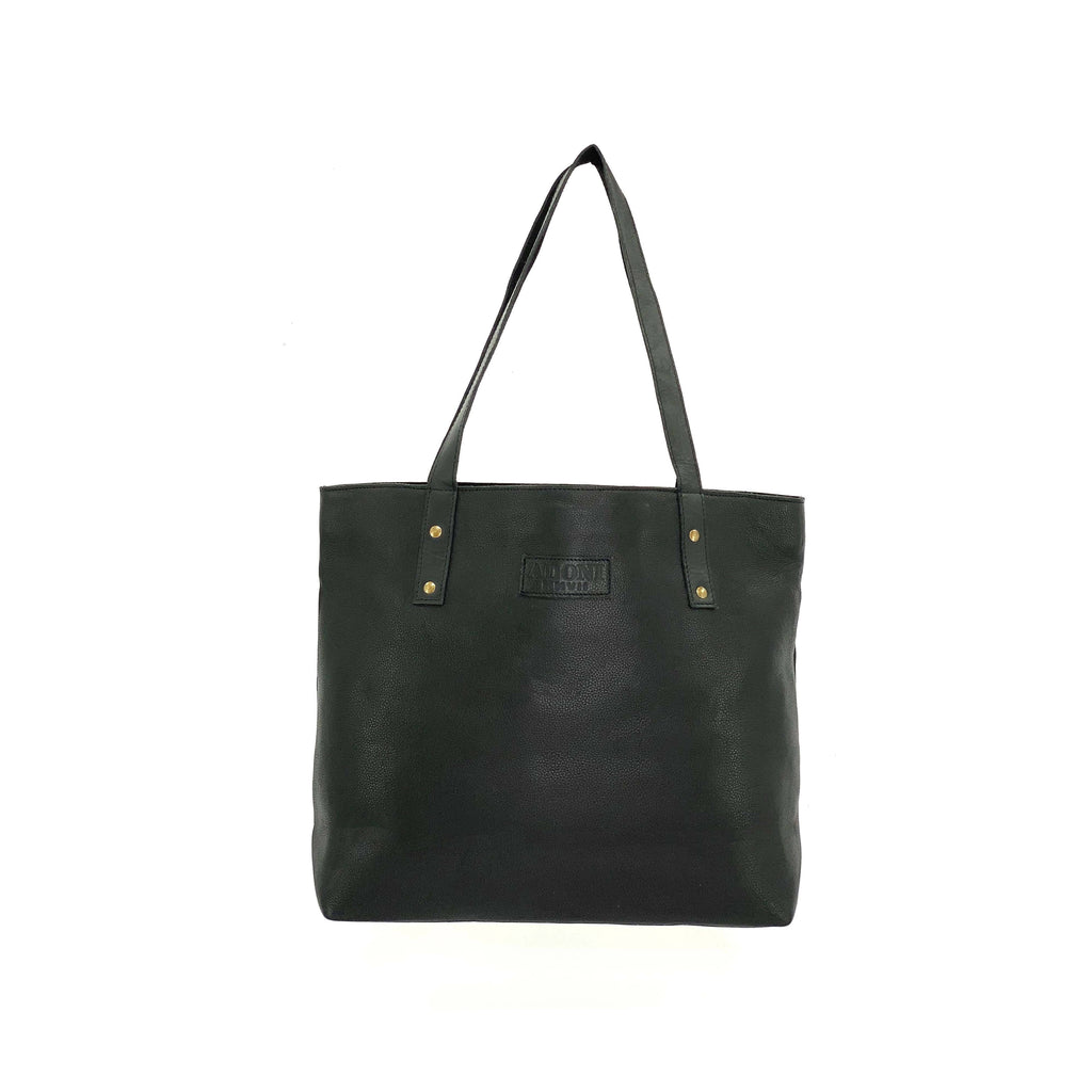 Medium Black Tote