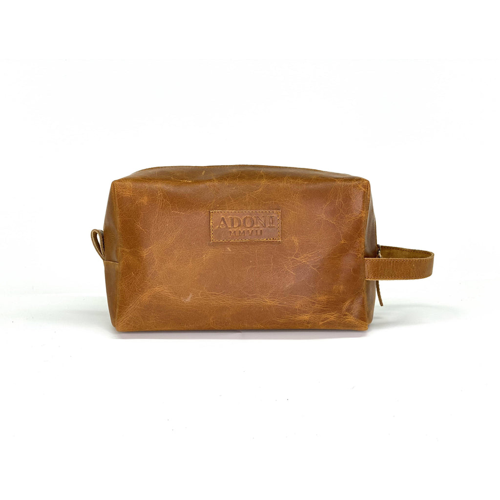Toiletry Bag (Cognac)