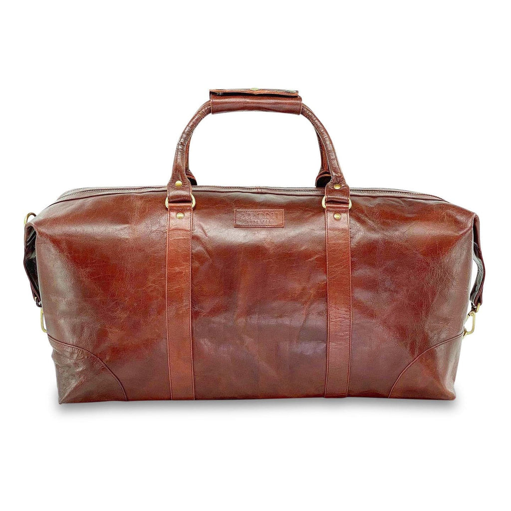 Elite Ox Blood Large Weekender Duffle Bag