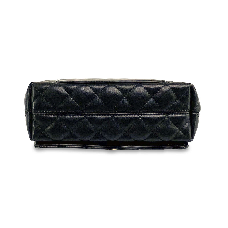 Quilted Black Shoulder Bag