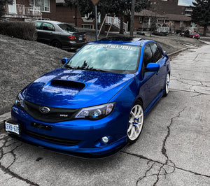 Team Subie regular cut banner