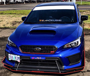 "Team Subie Regular Cut Banner 24""x4"""