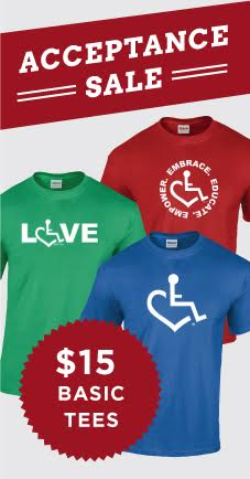 3E Love's Wheelchair Heart