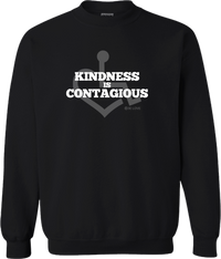 Kindness Is Contagious Crewneck Sweatshirt