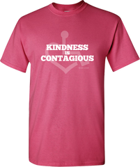 Kindness Is Contagious Tee - Pink