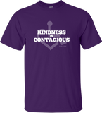 Kindness Is Contagious Tee - Purple