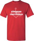 Kindness Is Contagious Tee - Red