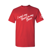 NEW! I Wear My Heart On My Sleeve T-Shirt