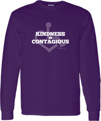 Kindness Is Contagious Long Sleeve T-Shirt