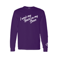 NEW! I Wear My Heart On My Sleeve Long Sleeve T-Shirt