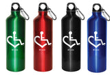 28 oz. Aluminum Water Bottle w/ Free Caribiner