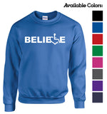 BELIEVE Crewneck Sweatshirt