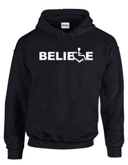 BELIEVE Hooded Pullover