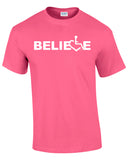 BELIEVE T-Shirt - Pink