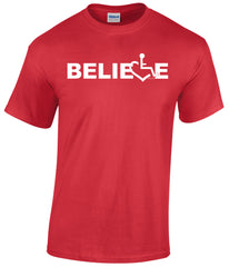 Believe Tee - Red