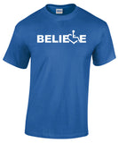Believe Tee - Royal Blue