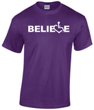BELIEVE T-Shirt - Purple