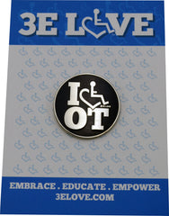 I Heart OT Lapel Pin