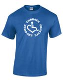 Circle of 3E Love T-shirt - Royal Blue