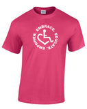 Circle of 3E Love T-shirt - Pink