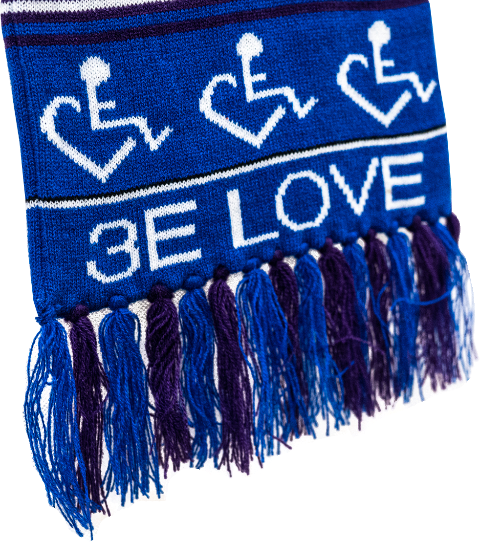 3E Love Winter Scarf