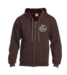 Circle of 3E Love Zip-Up - Russet