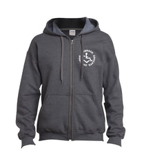 Circle of 3E Love Zip-Up - Tweed
