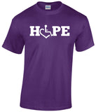 HOPE Tee - Purple