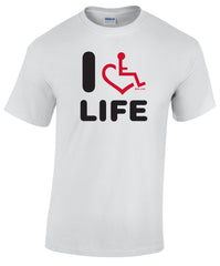 I Heart Life T-Shirt - White