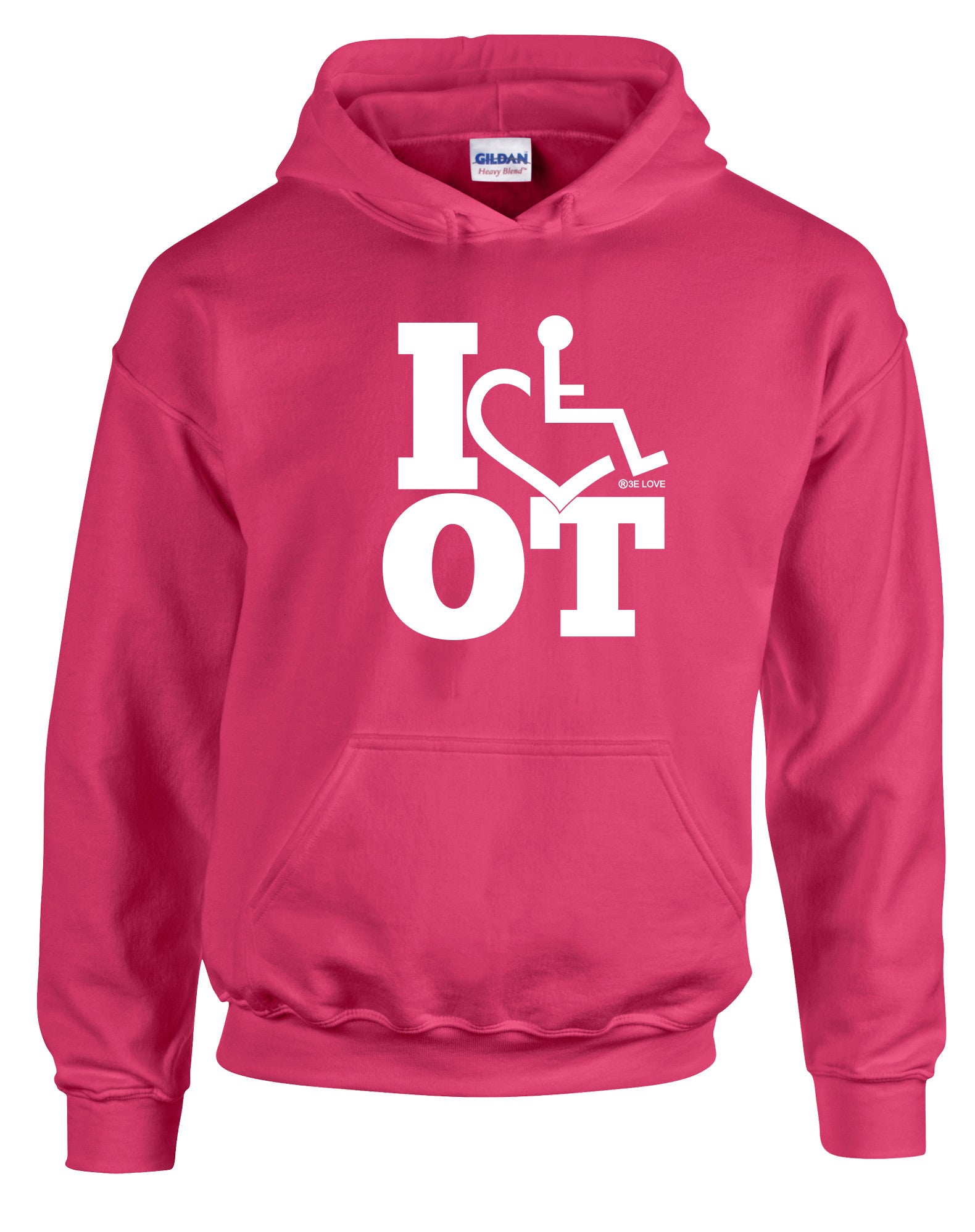 I Heart OT Hooded Pullover