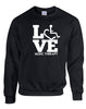 LOVE Music Therapy Crewneck Sweatshirt